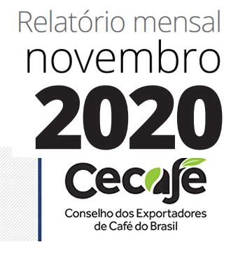 Exportações dos Cafés do Brasil batem recorde histórico mensal pelo terceiro mês consecutivo