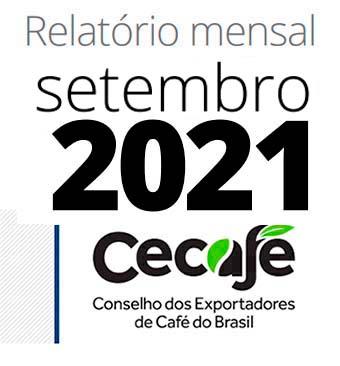 Exportação dos Cafés do Brasil atinge 29,7 milhões de sacas no acumulado de nove meses
